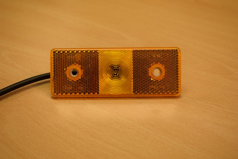 Amber Side Marker Light