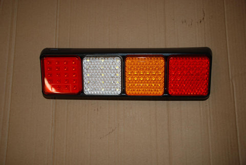 REAR LED LIGHTS 4 BANK STOP+TAIL/IND/REV/FOG