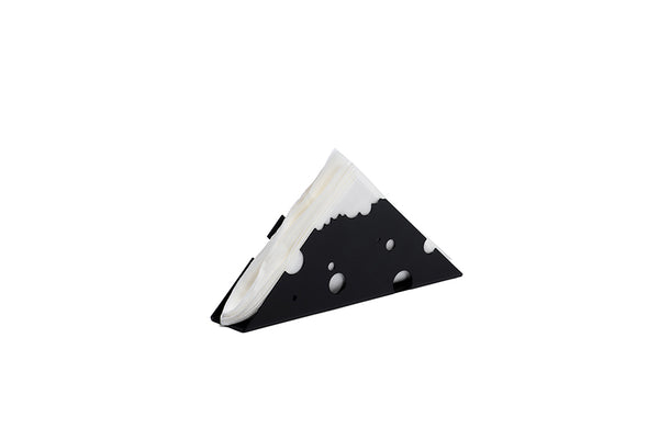 BLACK CHEESE TISSUE HOLDER