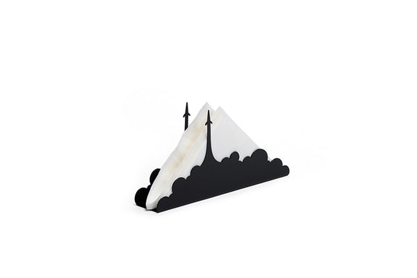 BLACK CLOUD TISSUE HOLDER