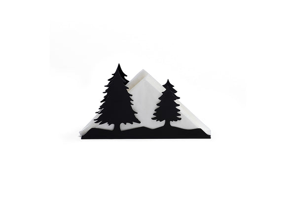 BLACK CONIFER TISSUE HOLDER