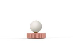 OPHELIA TABLE LAMP - PEACH