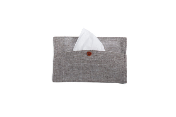 GREY PILO TISSUE HOLDER