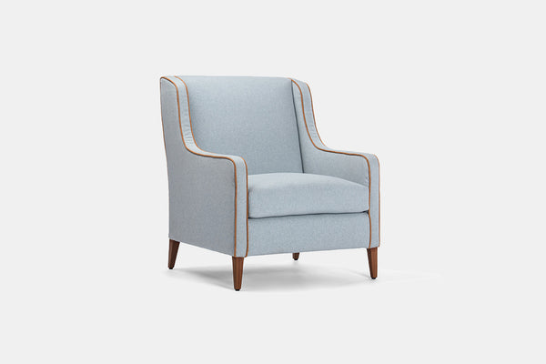 TEA BLUE LOUNGE CHAIR