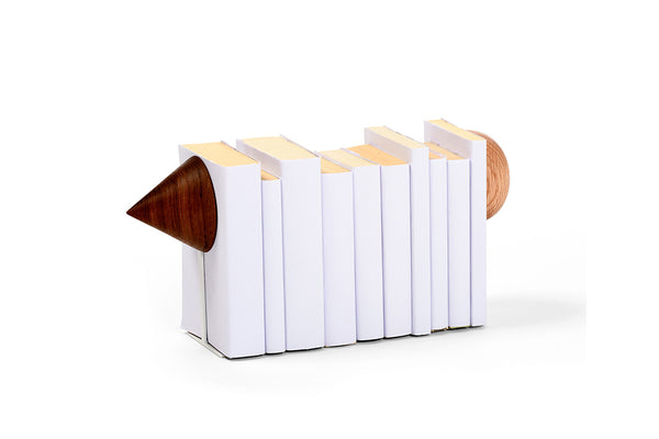 TIK - TAC - WHITE BOOKEND