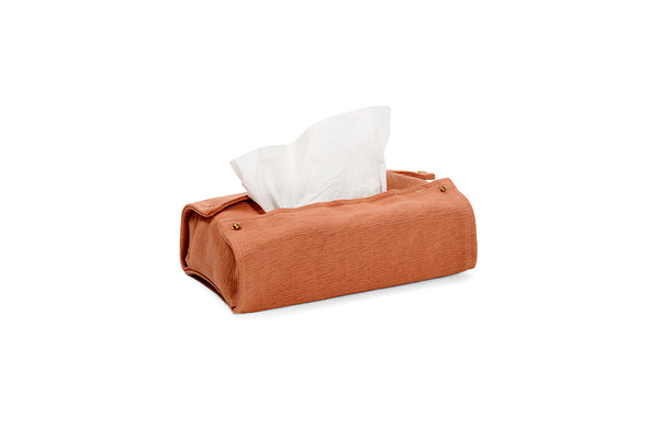 WRAP - RUST TISSUE BOX HOLDER