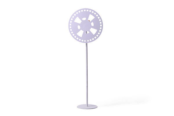 WINDUS  - WHITE FLOOR LAMP