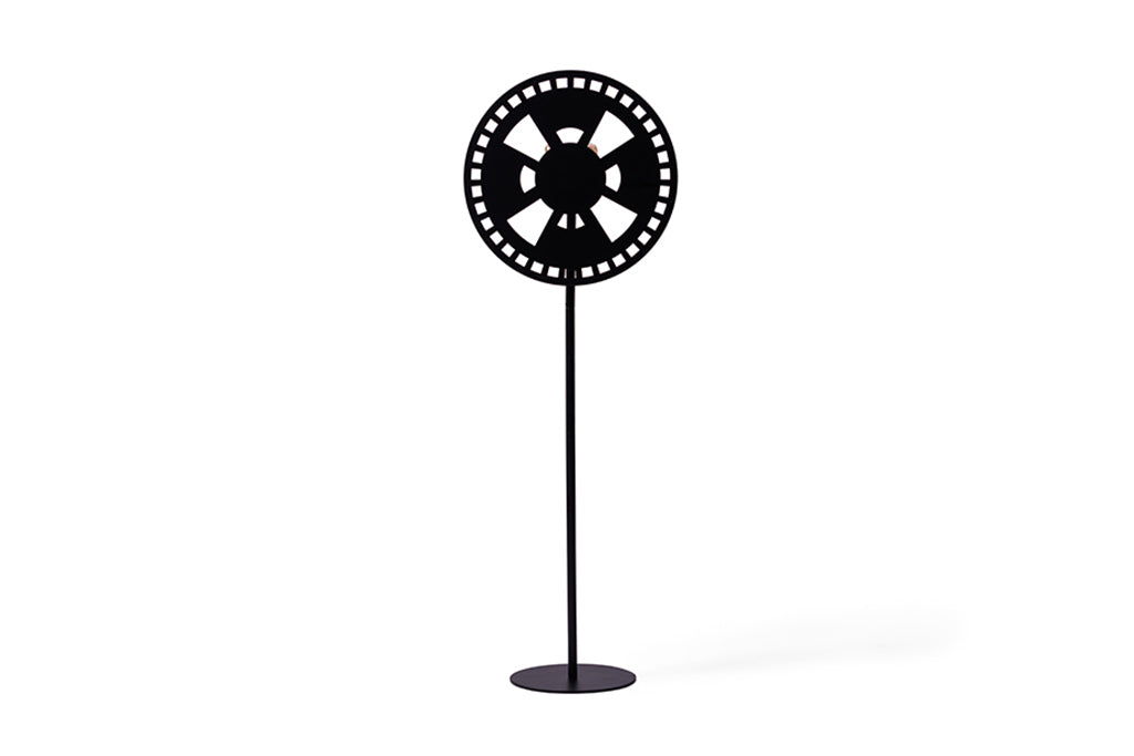 WINDUS - BLACK FLOOR LAMP