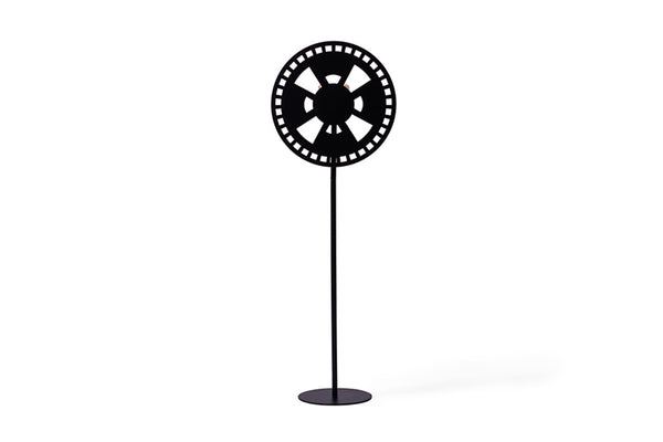 BLACK WINDUS FLOOR LAMP-I