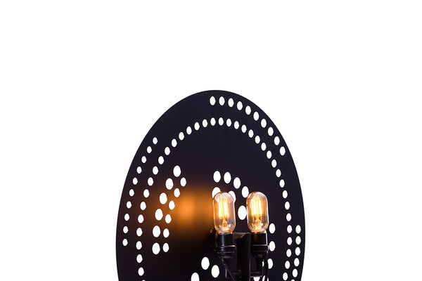 BLACK WINDUS FLOOR LAMP-II