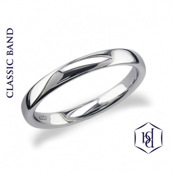 Classic Platinum Wedding Ring