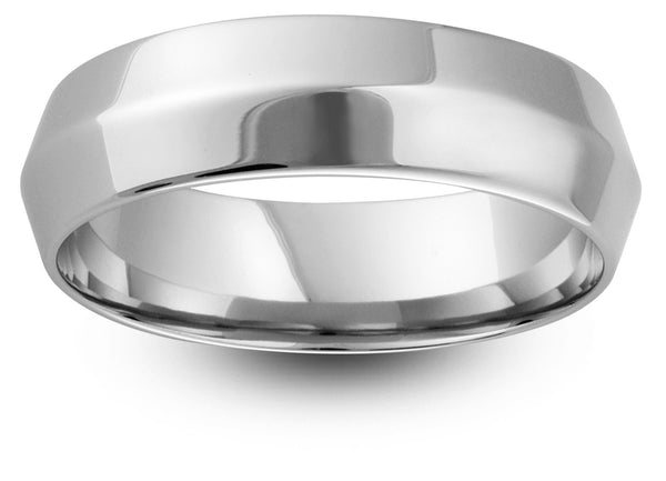 Pyramid Style Wedding Band