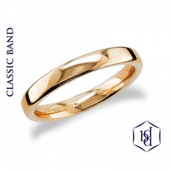 Traditional 18ct Yellow Gold Wedding Band - prices from
