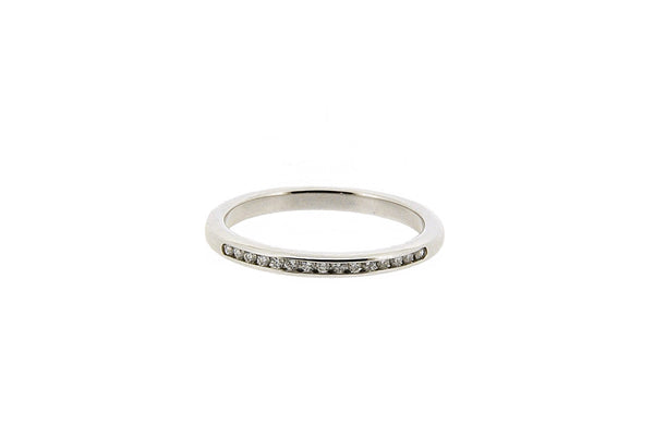 Platinum Eternity Ring, 0.13ct