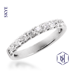Platinum Skye Eternity Ring, 0.22ct