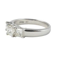 18ct White Gold Diamond Ring, 0.97ct