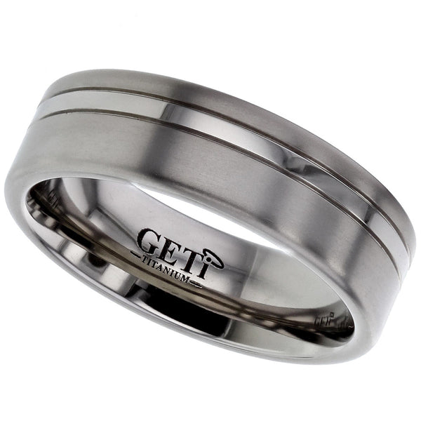 Titanium Ring - Prices From