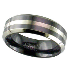Black Zirconium Ring - Prices From