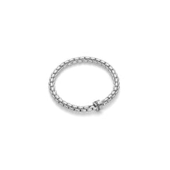 18ct White Gold & Diamond J & H Cuff, 0.39ct