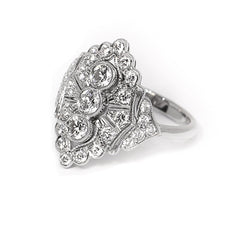 18ct White Gold & Diamond Ring, 1.30cts