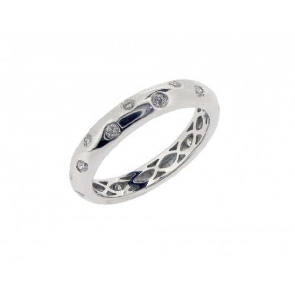 18ct White Gold Diamond Set Ring, 0.30ct