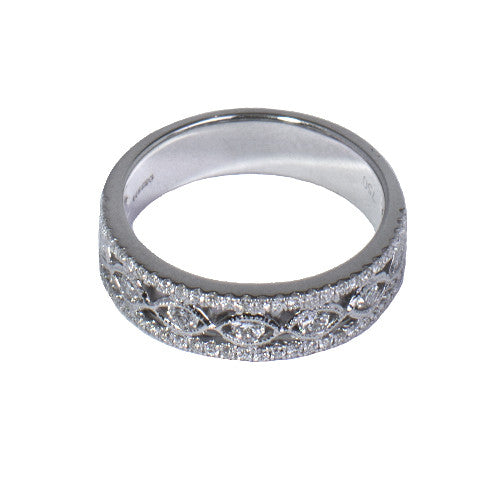 18ct White Gold Diamond Ring, 0.50ct