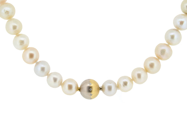 Pale Pink Kasumi Pearl Necklace