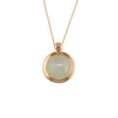 9ct Rose Gold Moonstone Bubble Pendant
