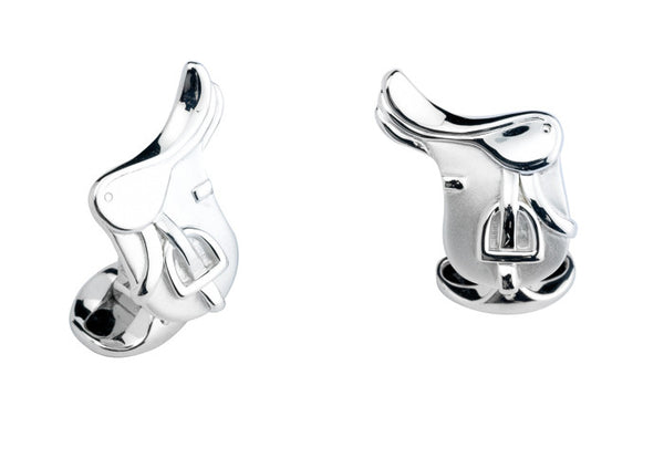 Silver Saddle Cufflinks