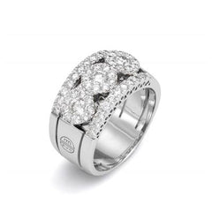 18ct White Gold Diamond Ring, 1.10cts