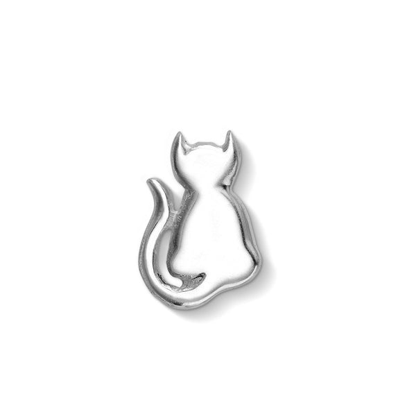 Sterling Silver Cat Treasure