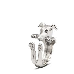 Greyhound Hug Ring