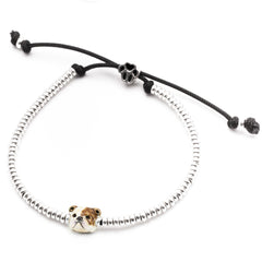 English Bulldog Head Bracelet