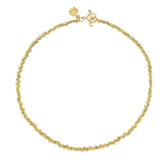 "18ct Gold Vermeil Small Nugget Nomad Necklace (18"")"