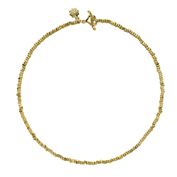 18ct Gold Vermeil Kubes Nomad Necklace