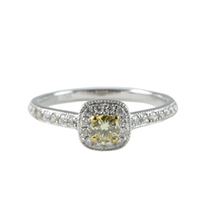18ct White Gold Diamond Ring, 0.30ct