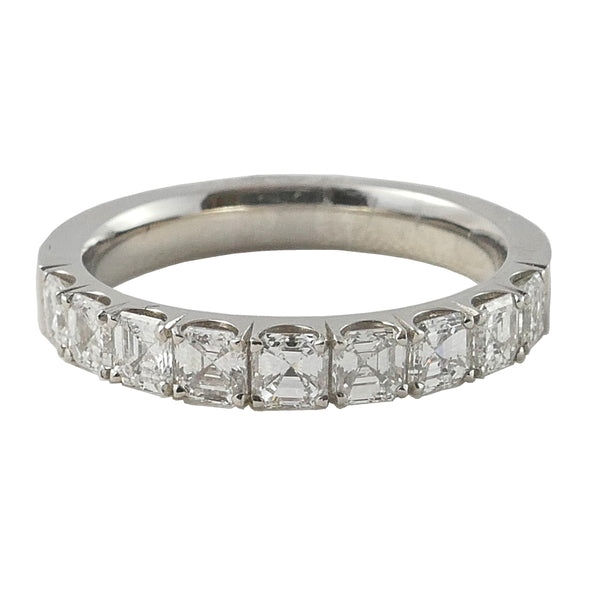 Platinum Princess Eternity Ring, 1.08cts