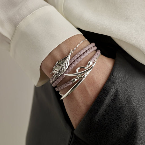 Silver Quill Bracelet