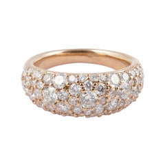 18ct Rose Gold Diamond Ring, 1.93cts