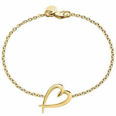 Yellow Gold Vermeil Heart Bracelet