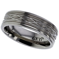 Celtic Knot Titanium Ring - Prices From