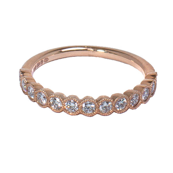 18ct Rose Gold Diamond Eternity Ring, 0.50ct