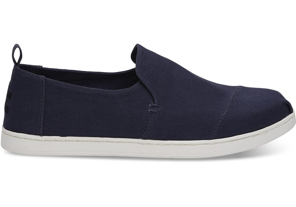 Toms - Men Deconstructed Alpargatas/Vegan - Navy Canvas