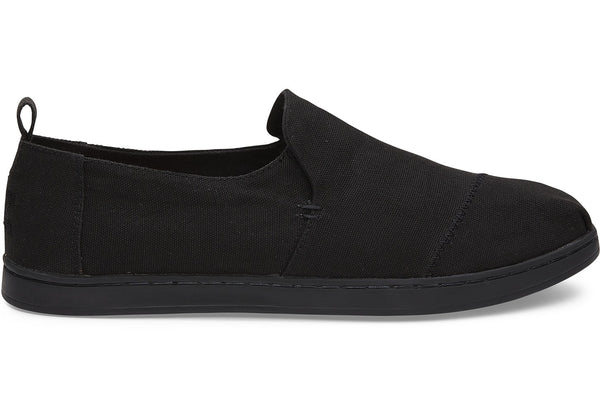 Toms - Men Deconstructed Alpargatas/Vegan - Black/Black Canvas