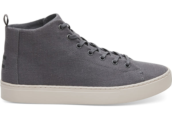 Toms - Men`s Lenox Mid Sneakers/Vegan - Shade Hemp