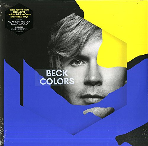 Beck - Colors  - Limited Edition Cover - Indie Record Store (Yellow Vinyl Album + MP3/WAV Download Card)