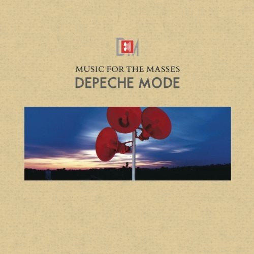 Depeche Mode - Music For The Masses (Remastered Gatefold Vinyl Album)