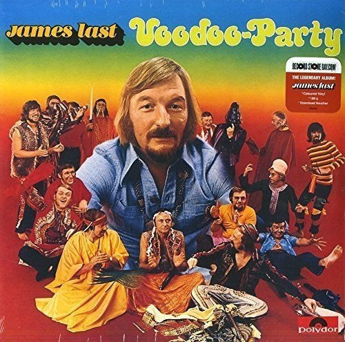 James Last - Voodoo-Party - Limited Edition (180 Gram Coloured Vinyl + Download Voucher)
