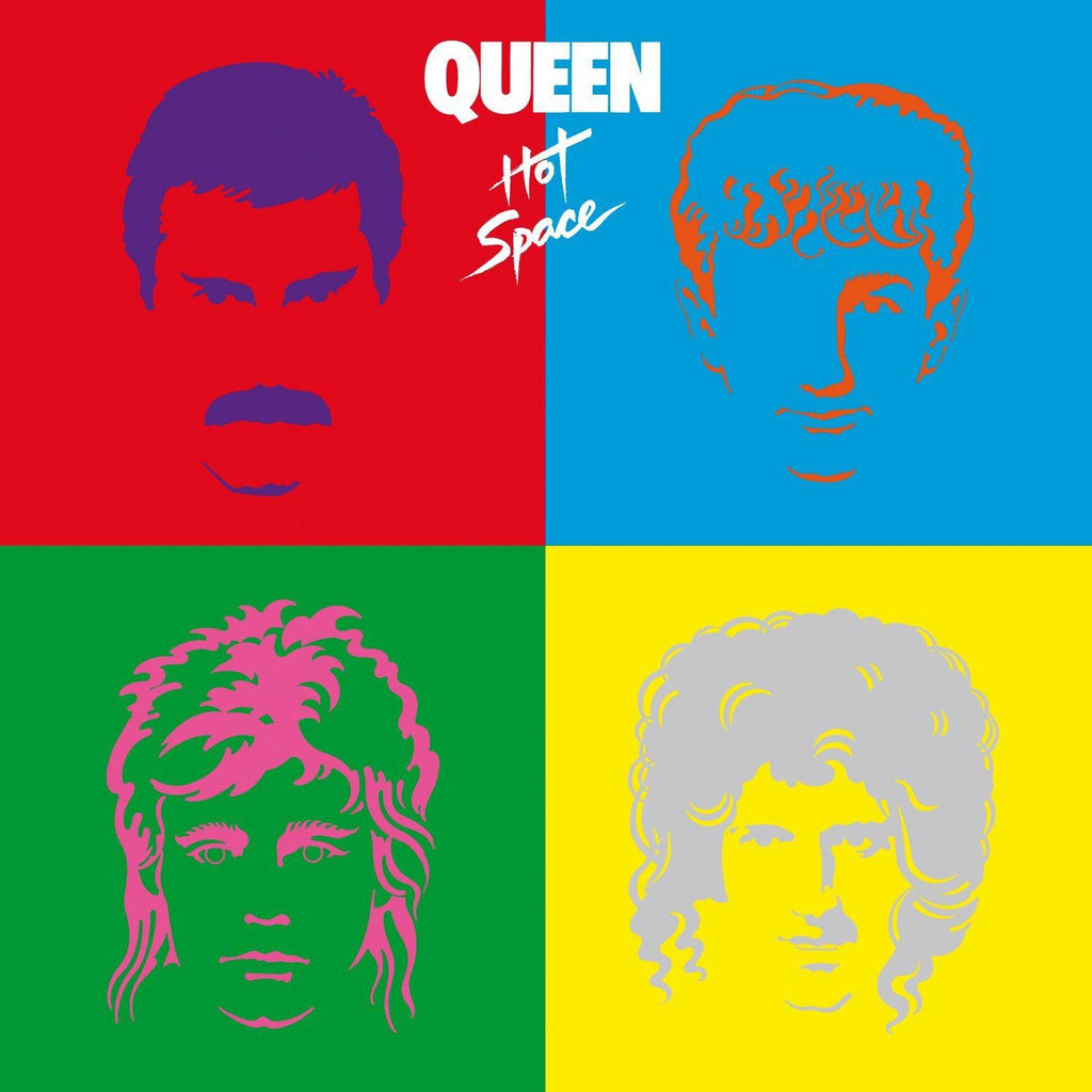 Queen -Hot Space (Half Speed Mastered 180 Gram Heavyweight Black Vinyl Album)