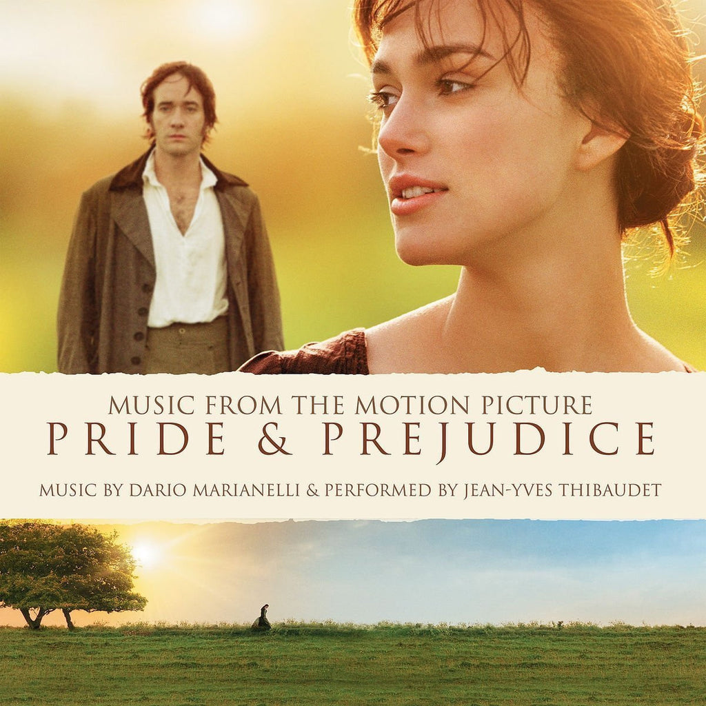 The Motion Picture Soundtrack - Music By Dario Marianelli - Pride & Prejudice (180 Gram Heavyweight Soundtrack Music Vinyl + Download Code)